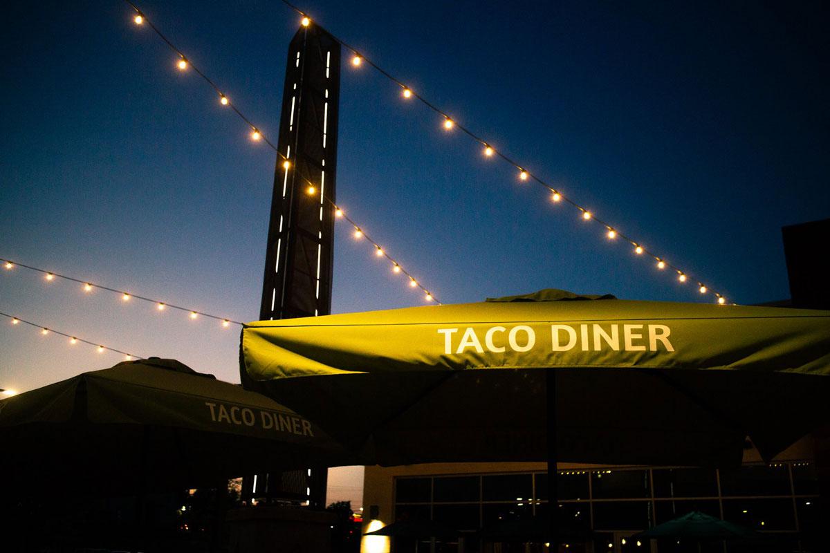 Taco Diner Lake Highlands Patio