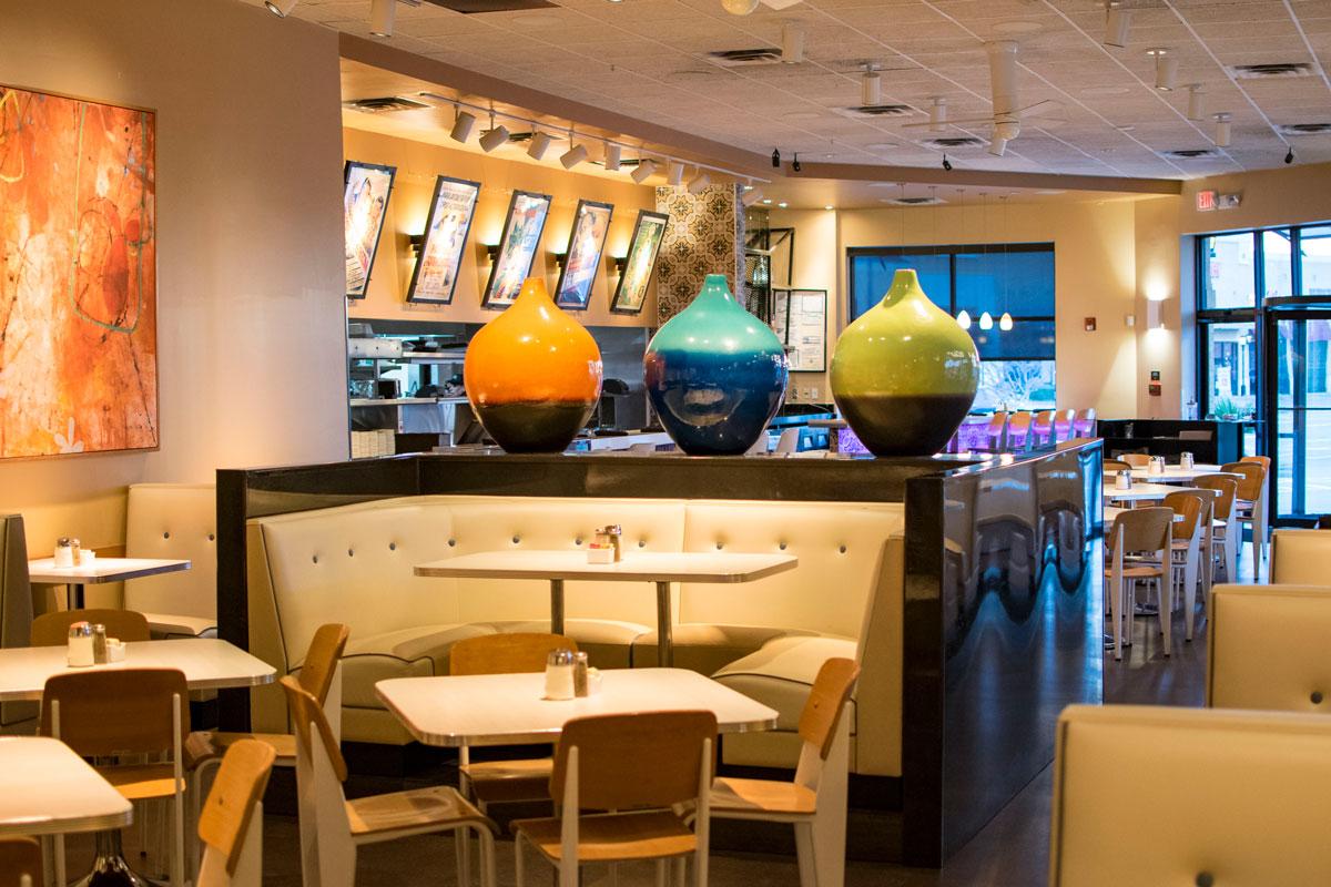 Taco Diner Las Colinas Dining Room