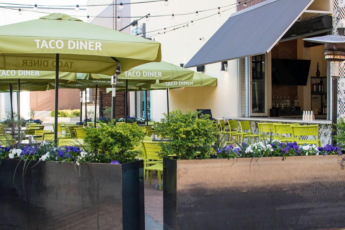 Taco Diner Waterside Patio